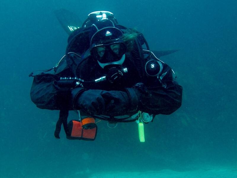 Deep diving Anna María í góðu floti